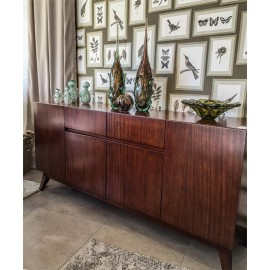 Buffetera Madera Roble 1.74m.